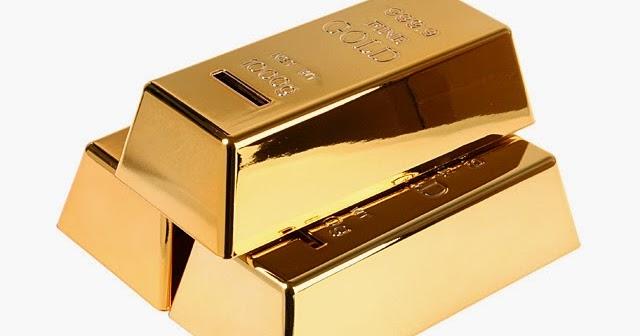 Los 3 lingotes de oro del un emprendedor feliz